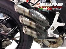 Load image into Gallery viewer, MV Agusta F3 675 800 Silmotor Exhaust Silencer Titanium Hand Made Snake Design
