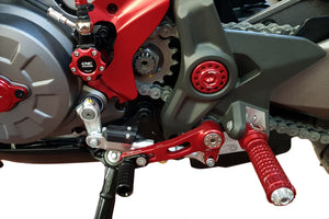 Ducati Monster 1200 S/R 16-18 CNC Racing Adjustable Rearsets Brake+Gear Levers F