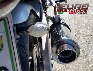 Suzuki SV 650 1999-2002 MassMoto Exhaust Slip-On Silencer GP1 Inox Road Legal