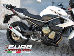 Yamaha XJ6 Diversion All Years MassMoto Exhaust Full System GP1 Inox Road Legal