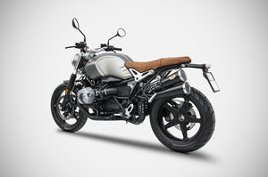 BMW R-nine T Scrambler 2017-2019 Zard Exhaust Overlapped Racing SlipOn Silencer