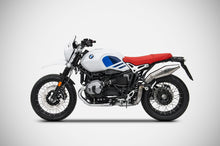 Load image into Gallery viewer, BMW RnineT R-nine T 2017-2019 Zard Exhaust R80 Version SlipOn Racing Silencer