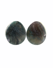 Obsidian Concave Plugs