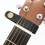Leather Guitar Strap Holder Button Safe Lock