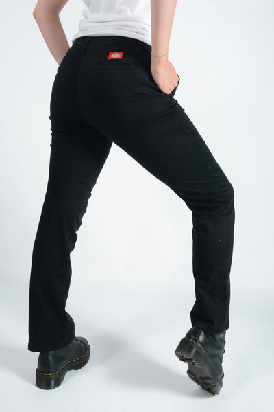 Dickies Low Rise Jeans in Black