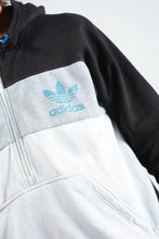 Load image into Gallery viewer, Vintage Adidas 1/4 Zip Hoodie Sweatshirt with Logo