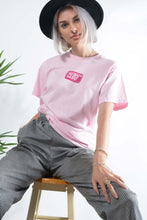 Load image into Gallery viewer, Failed Rockstar Club t-shirt in pink soap design