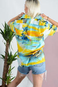Vintage Hawaiian pattern shirt