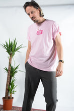 Load image into Gallery viewer, Failed Rockstar Club t-shirt in pink with soap logo