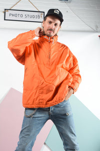 Vintage Padded Jacket in Orange