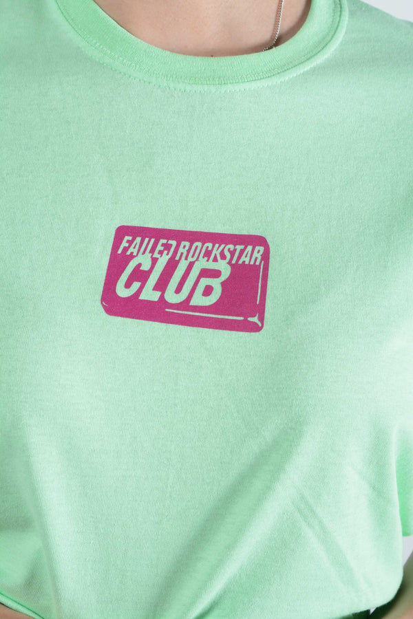 Failed Rockstar Club t-shirt in mint with soap logo