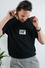 Load image into Gallery viewer, Failed Rockstar Club t-shirt in black with soap logo