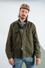 Load image into Gallery viewer, Vintage Military Camo jacket in Green
