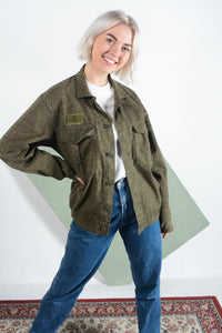 Vintage Military Camo jacket in Green