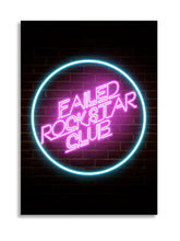 Load image into Gallery viewer, Failed Rockstar Club Poster A2
