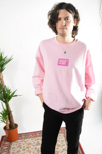Failed Rockstar Club sweatshirt in pink