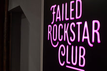 Load image into Gallery viewer, Failed Rockstar Club t-shirt in black