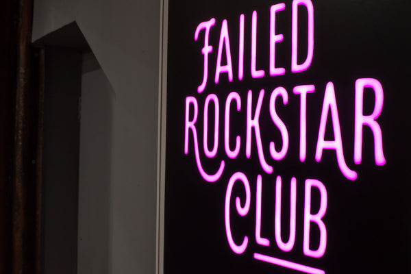 Failed Rockstar Club t-shirt in black