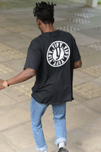 Load image into Gallery viewer, Black YIFY Stamp T-shirt