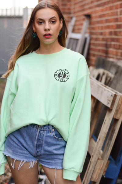 Stamp Printed Sweatshirt (available in 4 colours)