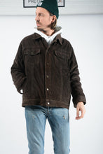 Load image into Gallery viewer, Vintage Cord Jacket in Brown - XL