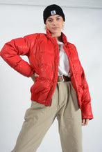 Load image into Gallery viewer, Vintage 90's Jacket Puffer Red - L