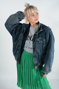 Vintage Lined Denim Jacket