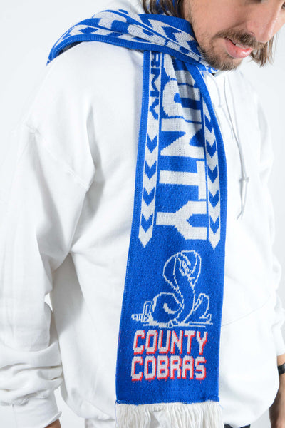 Vintage Stockport Football Scarf