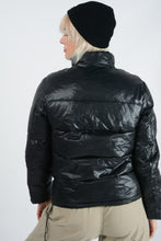 Load image into Gallery viewer, Vintage 90's Jacket Puffer Black - M