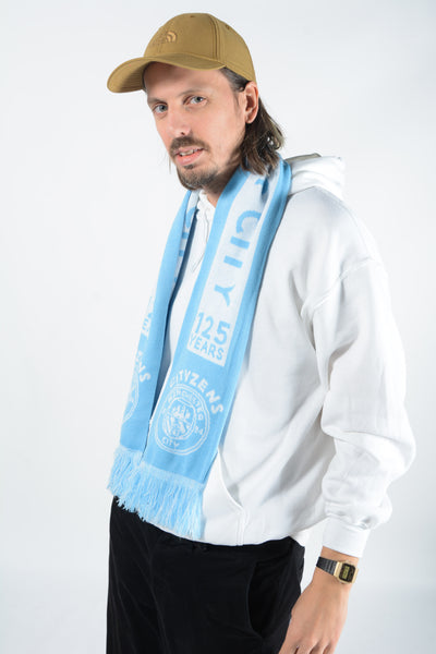 Vintage Man City Football Scarf