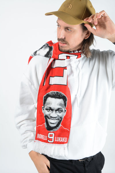 Man United Football Scarf