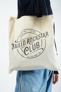 Failed Rockstar Club Canvas Tote Bag
