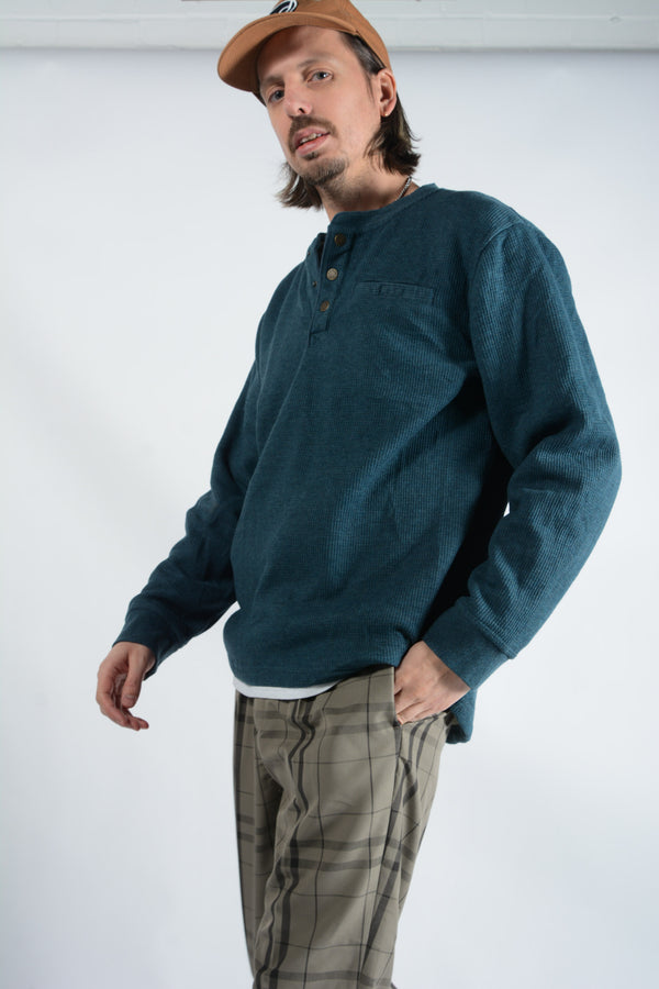 Vintage LL Bean Fleece Lined Jumper - L
