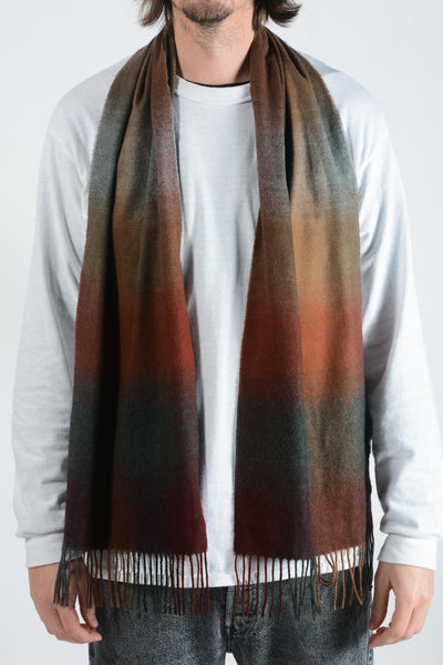 Vintage Scarf in Brown - 1 size