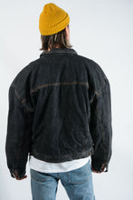 Load image into Gallery viewer, Vintage Denim Jacket in Grey - XXL