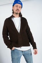 Load image into Gallery viewer, Vintage Tommy Hilfiger Cardigan in Brown - M