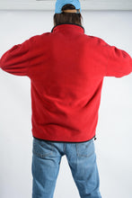 Load image into Gallery viewer, Vintage Fleece Zip Up Jacket in Red - 2XL