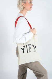 YIFY Logo Canvas Tote Bag