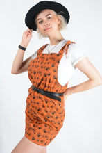 Load image into Gallery viewer, Bespoke Handmade Halloween Pinafore Dress