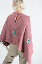 Load image into Gallery viewer, Vintage reworked poncho