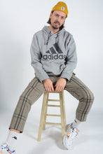 Load image into Gallery viewer, Vintage Adidas Hoodie in Grey with Logo - XL