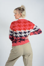 Load image into Gallery viewer, Vintage Preppy Knit Jumper in Pink - M