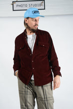 Load image into Gallery viewer, Vintage Corduroy Shirt in Brown - L