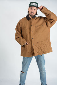 Vintage Dickies Workwear Jacket in Brown - XXL