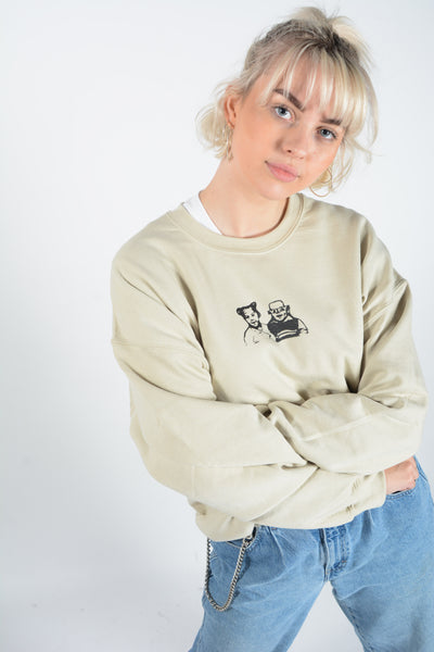 Anon Screen Printed Sweatshirt (available in 3 colours)