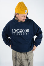 Load image into Gallery viewer, Vintage USA University Sweatshirt in Blue with Graphic Print - XL