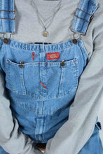 Load image into Gallery viewer, Vintage Dickies Dungarees in Blue - L