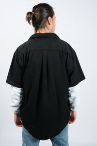 Vintage Dickies Skater Workwear Shirt in Black - XL