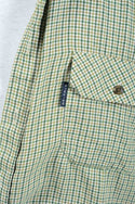 Vintage 90s Dickies Shirt Flannel Check With Logo - XL