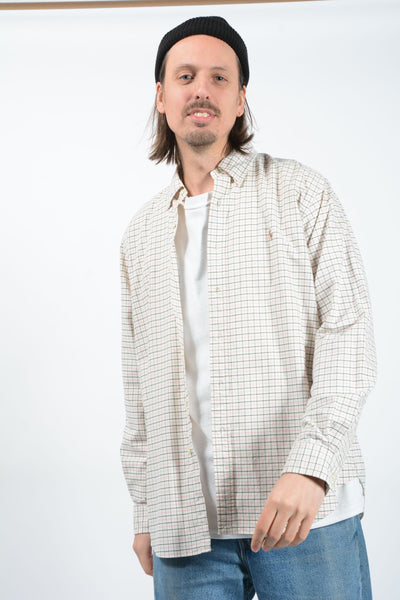 Vintage Ralph Lauren Mod Shirt in Check Pattern With Logo - XL